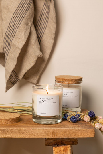 Aromatic Candle (200 gr) Words Collection