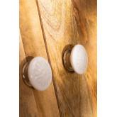 Set of 2 Ceramic Knobs Sol, thumbnail image 2