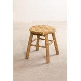 Low Stool in Bamboo Dilio, thumbnail image 2