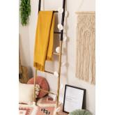 Plaid Cotton Blanket Fenna , thumbnail image 4