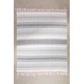 Plaid Blanket in Tieron Cotton, thumbnail image 1
