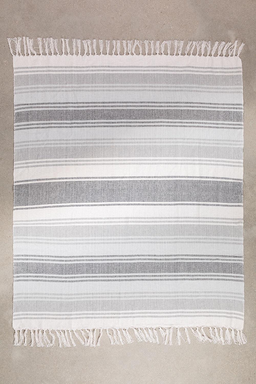 Plaid Blanket in Tieron Cotton, gallery image 1
