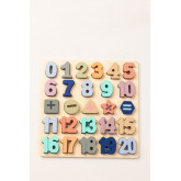 Puzzle with Wooden Numbers Nemi Kids, thumbnail image 1