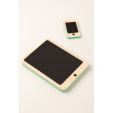 Gamis Kids Wooden Tablet and Mobile Set, thumbnail image 1