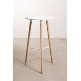 Round High Table in MDF and Metal (Ø60 cm) Royal Design, thumbnail image 2
