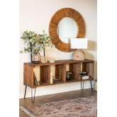 Recycled Wooden Sideboard Shelving Unit Ceila , thumbnail image 1
