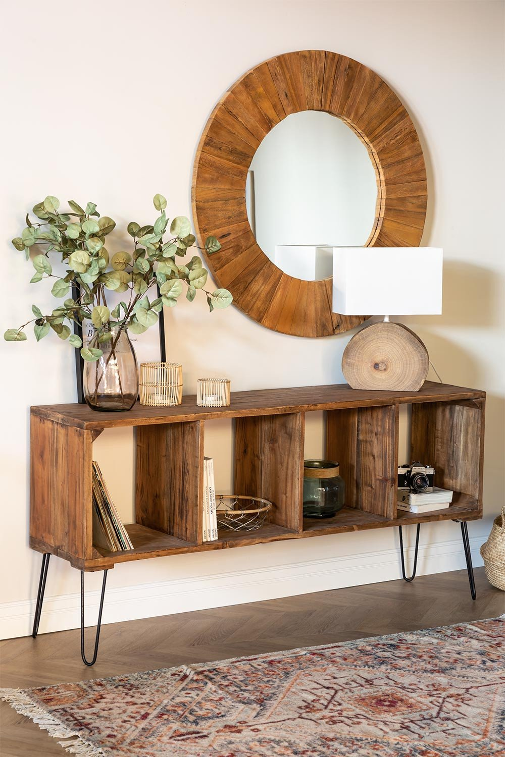 Recycled Wooden Sideboard Shelving Unit Ceila , gallery image 1