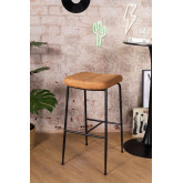 High Stool in Leatherette Ospi, thumbnail image 1