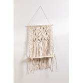 Tapestry with Wall Shelf in Cotton Liv, thumbnail image 2