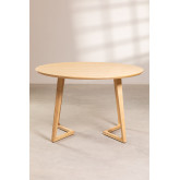 Round Dining Table in Ash Wood (Ø120 cm) Keira, thumbnail image 3