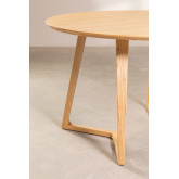 Round Dining Table in Ash Wood (Ø120 cm) Keira, thumbnail image 4
