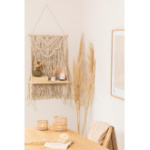 Tapestry with Wall Shelf in Cotton Beep, thumbnail image 1