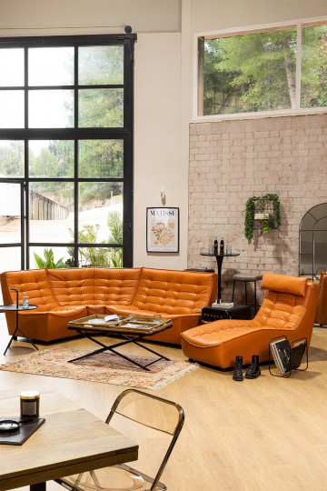 Sofa Modules in Artis Faux Leather