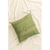 Lozi Square Cotton Cushion (50x50cm), thumbnail image 1