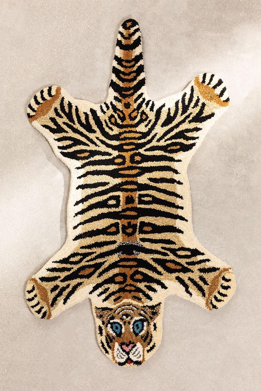 Alfombra de Lana (100x60 cm) Kumal Kids, gallery image 1