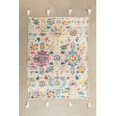 Tario Plaid Blanket in Cotton, thumbnail image 872721
