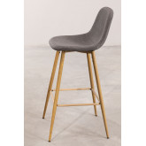Pack 4 High Stools in Linen Glamm, thumbnail image 2