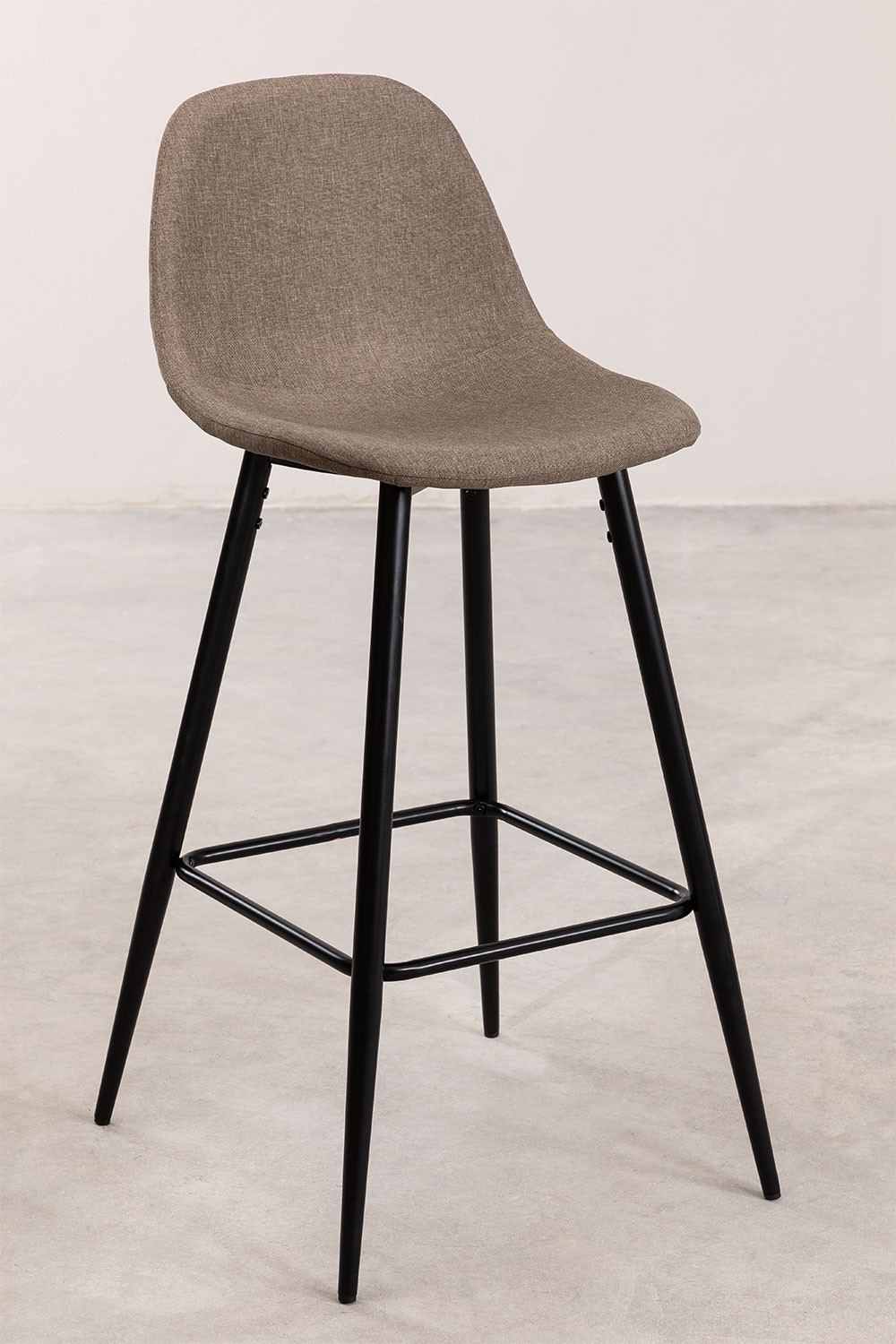 Pack 2 High Stools in Linen Glamm, gallery image 1