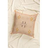 Bron Square Cotton Cushion (50x50cm) , thumbnail image 1