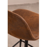 Pack 4 High Stools in Leatherette Glamm, thumbnail image 3