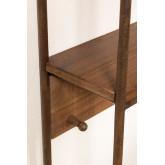 Combined Hallway Shelf- Coat Rack & Mirror  Nosq , thumbnail image 4