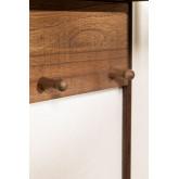 Combined Hallway Shelf- Coat Rack & Mirror  Nosq , thumbnail image 5