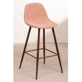 Pack 4 Tall Stools in Corduroy Glamm, thumbnail image 1