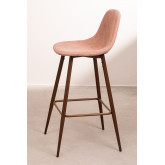 Pack 4 Tall Stools in Corduroy Glamm, thumbnail image 2