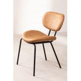 Abix Leatherette Dining Chair, thumbnail image 1