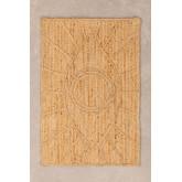 XL Braided doormat in Jute (90x60 cm) Elaine, thumbnail image 1