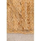 XL Braided doormat in Jute (90x60 cm) Elaine, thumbnail image 3