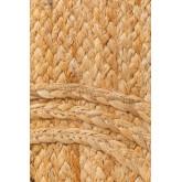 XL Braided doormat in Jute (90x60 cm) Elaine, thumbnail image 4