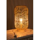 Table Lamp in Rattan Api , thumbnail image 4