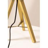 Rattan & Metal Table Lamp Megal , thumbnail image 5