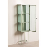 1 Door Showcase in Metal and Vertal Glass, thumbnail image 3