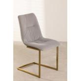 Dubhar Velvet Upholstered Dining Chair, thumbnail image 2