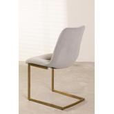 Dubhar Velvet Upholstered Dining Chair, thumbnail image 4