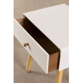 Nightstand in MDF and Lucka Pine Wood, thumbnail image 4