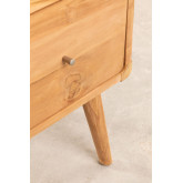 Memphis Teak Wood TV Cabinet, thumbnail image 5