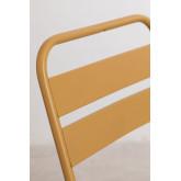 Garden  Set  Foldable Table (60x60 cm) & 2 Foldable Chairs Janti , thumbnail image 6