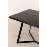 Rectangular Dining Table in Mango Wood (170x90 cm) Gledi, thumbnail image 4