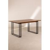 Rectangular Dining Table in Mango Wood (150x90 cm) Betu, thumbnail image 2