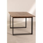 Rectangular Dining Table in Mango Wood (180x90 cm) Betu, thumbnail image 3