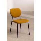 Taris Velvet Upholstered Dining Chair, thumbnail image 2