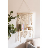 Tapestry with Wall Shelf in Luad Cotton, thumbnail image 1