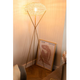 Rattan Floor Lamp Xauron, thumbnail image 2
