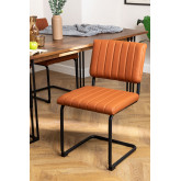 Orwell Leatherette Dining Chair, thumbnail image 1