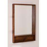 Rectangular Wooden Wall Mirror (120x80 cm) Bartel, thumbnail image 1
