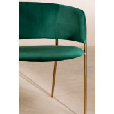 Nalon Velvet Dining Chair, thumbnail image 5