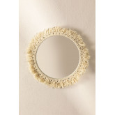 Round Wall Mirror in Macrame (Ø40 cm) Colin, thumbnail image 2